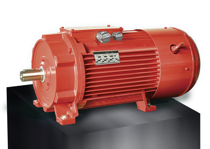 EME Produkte auf Box Rippengekühlte Synchrongeneratoren