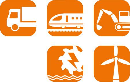 EME Icons Fluessigkeitsgekuehlte